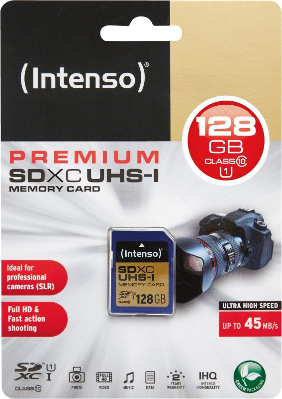 SD Card 128GB UHS-I SDXC