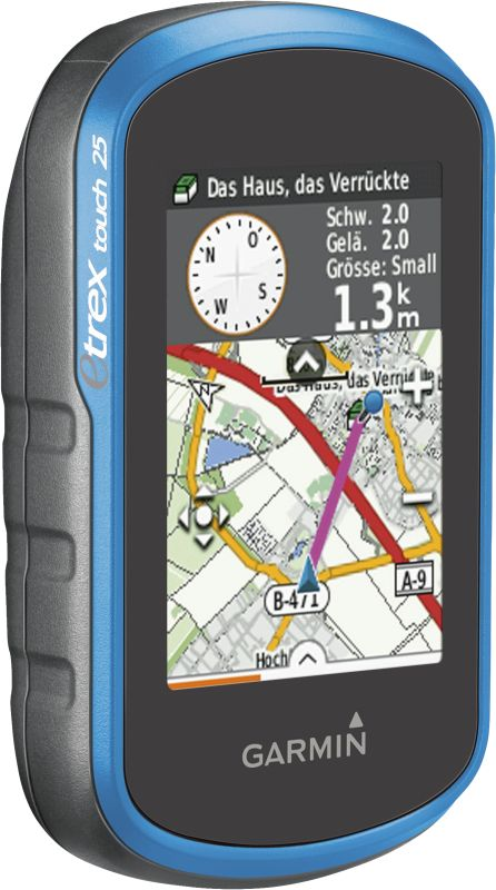 eTrex Touch 25 inkl. TopoActive Europa