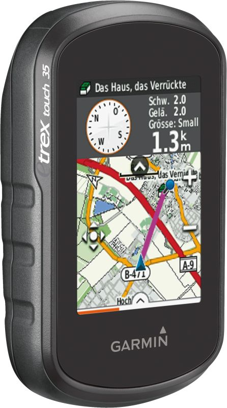 eTrex Touch 35 inkl. TopoActive Europa