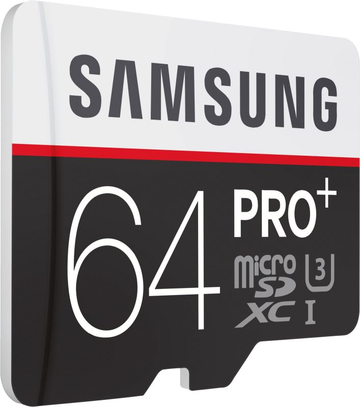 PRO+ 64GB micro SDXC Card 95MB/s + Adapter