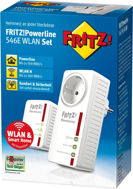 FRITZ!Powerline 546E WLAN Set