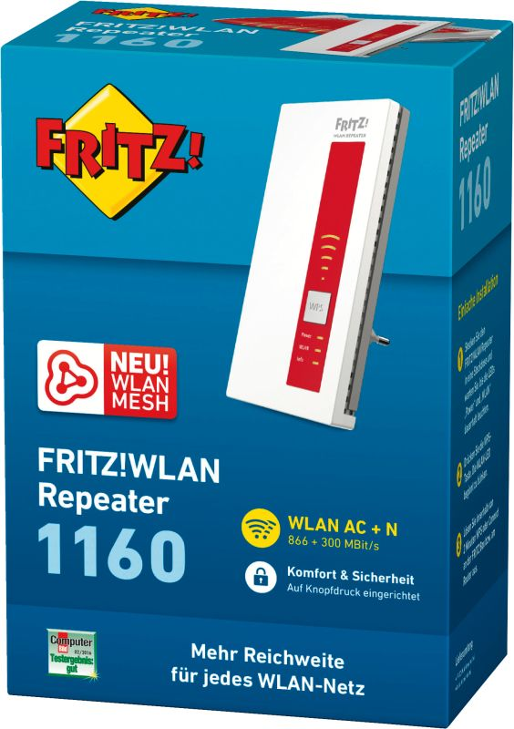 FRITZ!WLAN Repeater 1160