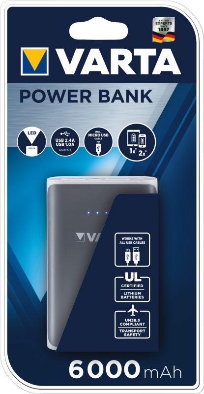 Portable Power Bank 6000