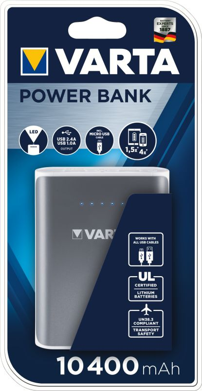 Potable Power Bank 10400