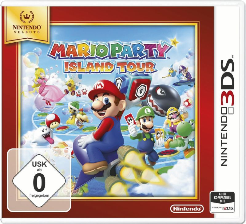 3DS Mario Party: Island Tours Selects
