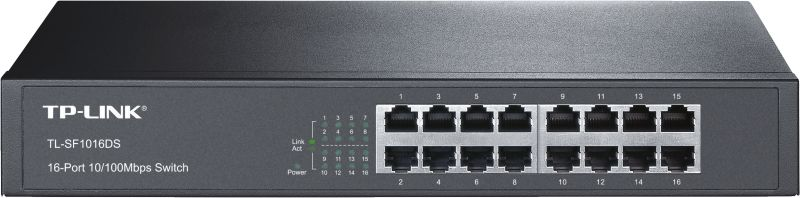 TL-SF1016DS V3.0 16-Port-10/100Mbit/s-Switch