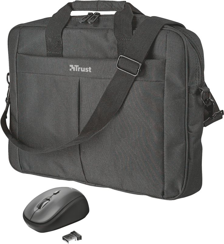 """Primo 16"""" Bag with wireless mouse"""
