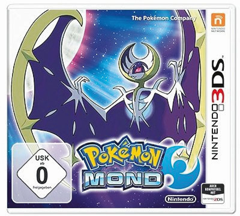 3DS Pokémon Mond