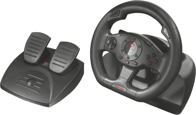 GXT 580 Vibration Feedback Racing Wheel