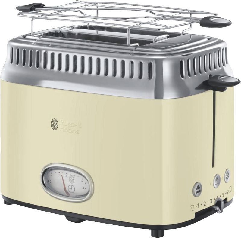 Retro Vintage Cream Toaster