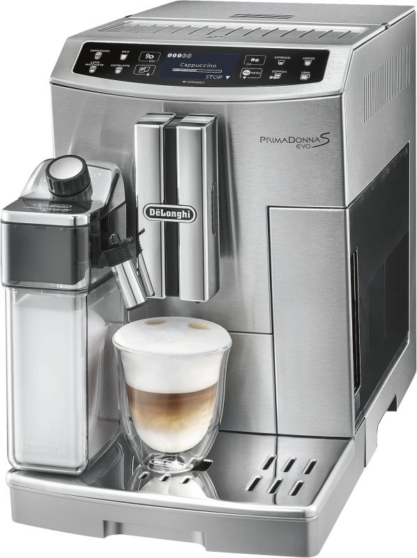 delonghi kaffee vollautomat ecam primadonna s evo. Black Bedroom Furniture Sets. Home Design Ideas