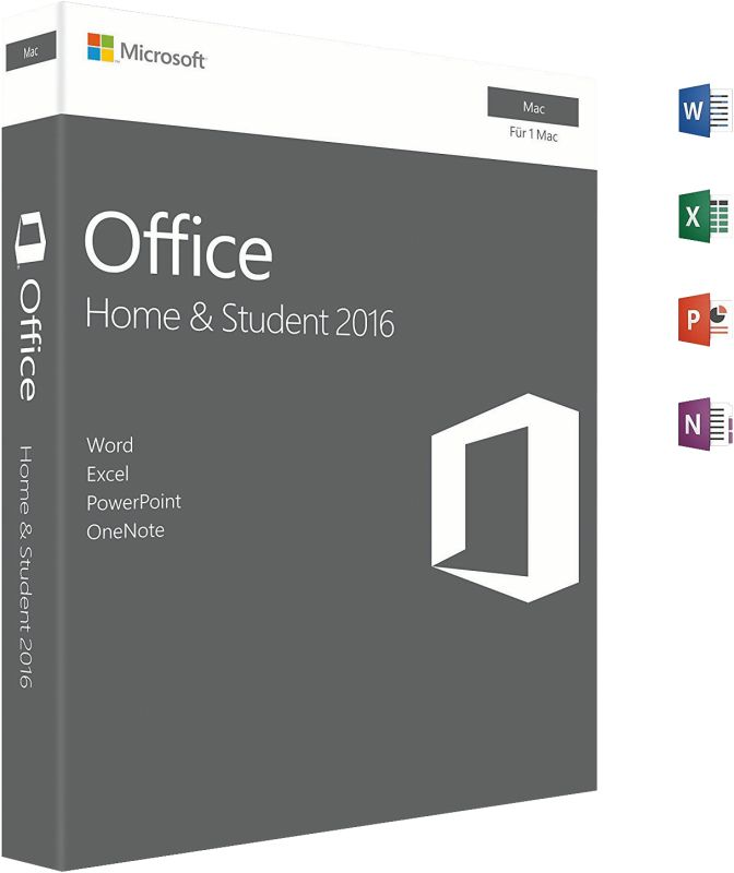 Office Mac Home & Student 2016