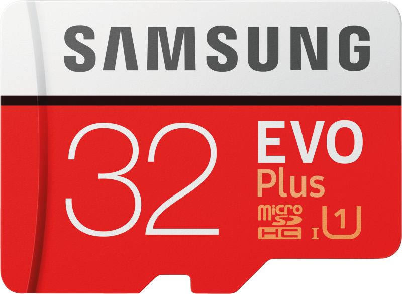 EVO Plus 32GB microSDHC Card 95MB/s + SD-Adapter