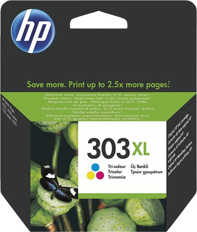 T6N03AE HP 303 Color XL