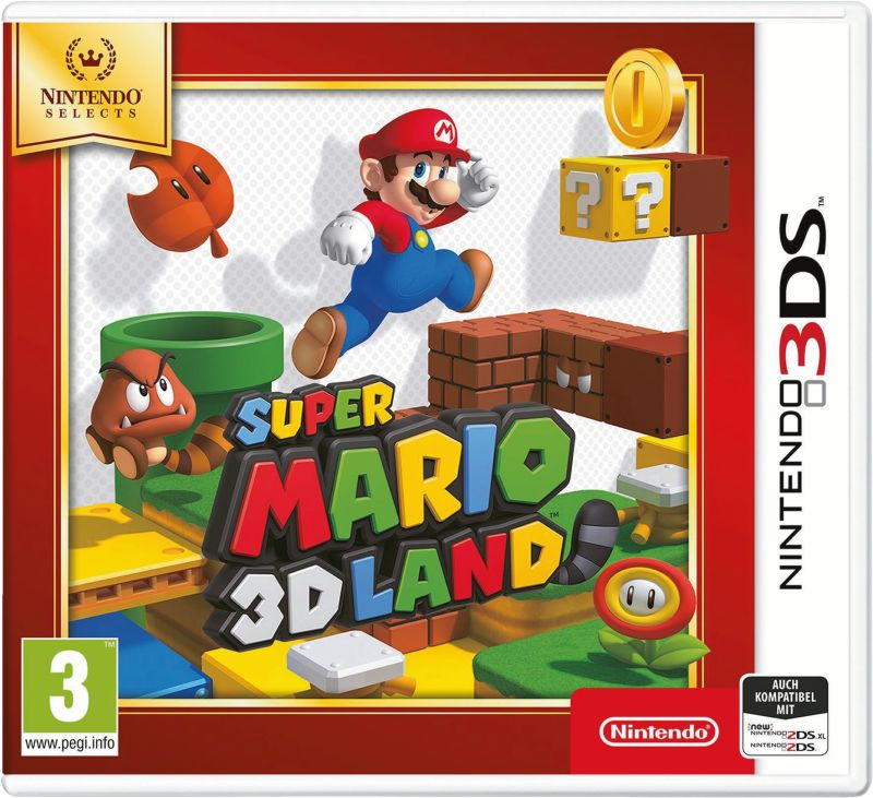 3DS Super Mario 3D Land Selects
