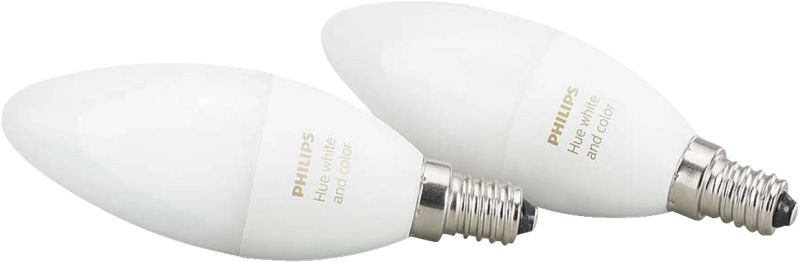 Hue White and Color Ambiance LED E14 Doppelpack RGBW 6,5W