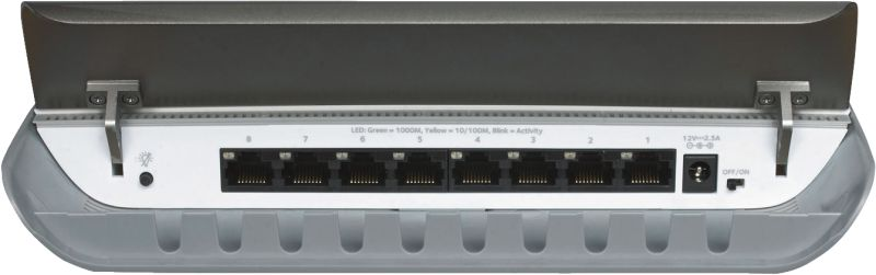 GS908-100PES 8-Port Unmanaged Gigabit Switch