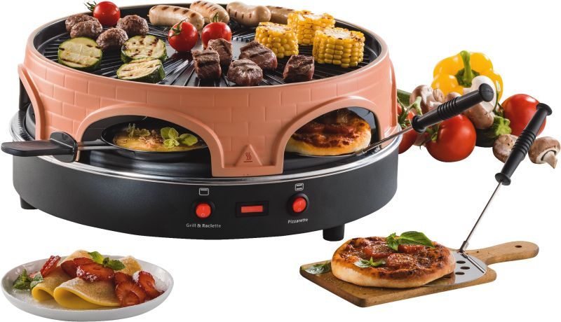 Pizza/Raclette Grill 4in1