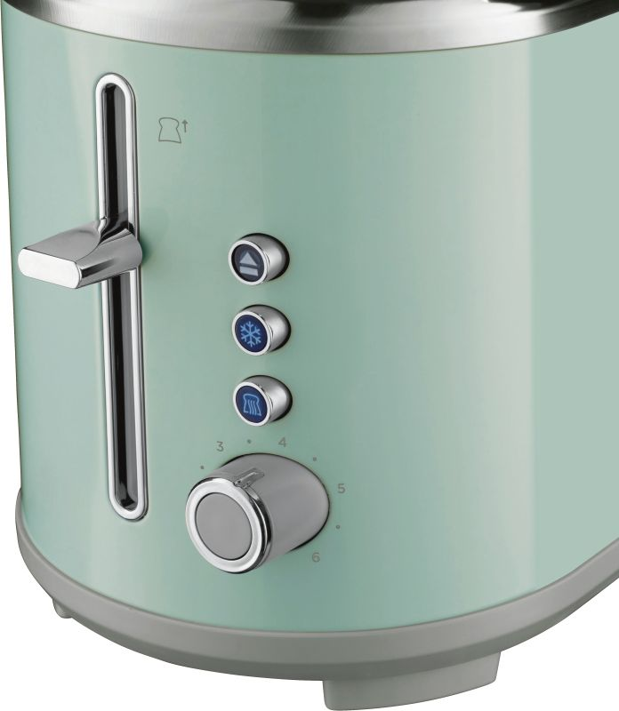 Bubble Soft Green Toaster