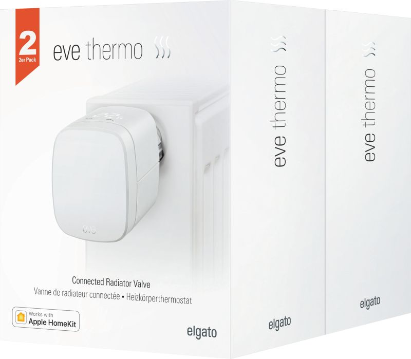 eve Thermo 2017 (HomeKit) 2er Set