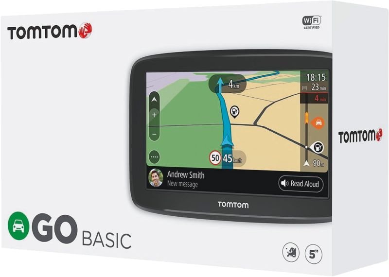 tomtom mobiles navigationsger t go basic 5 39 39 eu45 t medimax. Black Bedroom Furniture Sets. Home Design Ideas