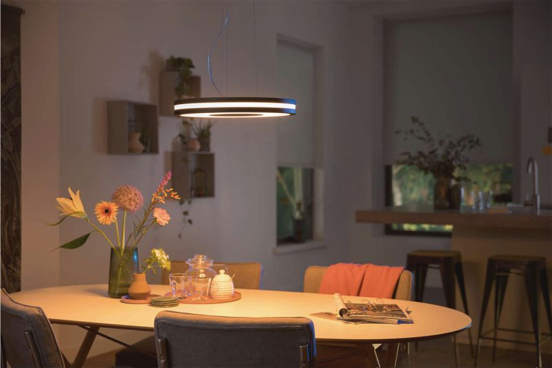 Plafoniera A Led Beign Philips Hue : Philips plafoniera led hue being pendelleuchte ambiance