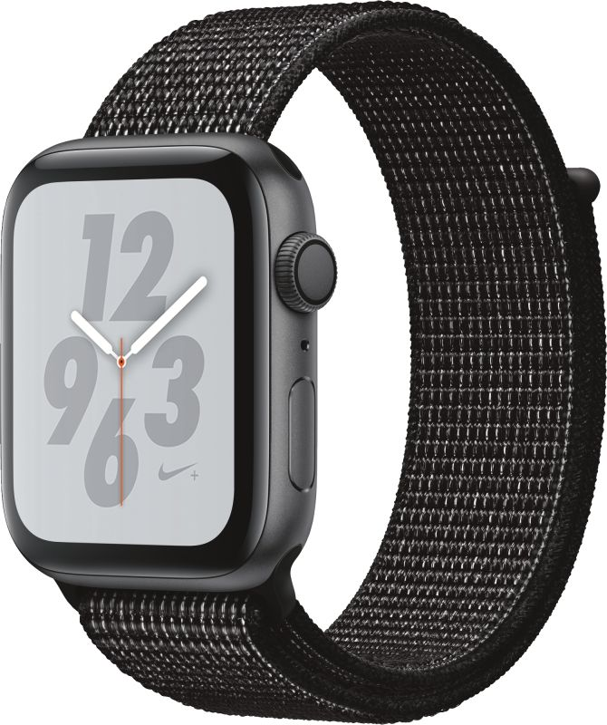 Watch Nike+ Series 4 GPS, 44mm Alu schwarzes Armband